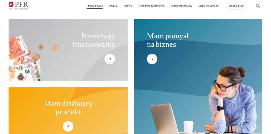 Ruszyła strona startup.pfr.pl!