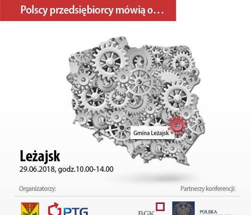 Polscy przedsiębiorcy mówią o… – konferencja w Leżajsku