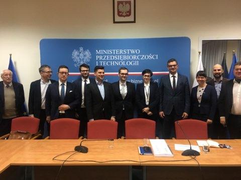 Spotkanie PTG z nowym wiceministrem MPiT