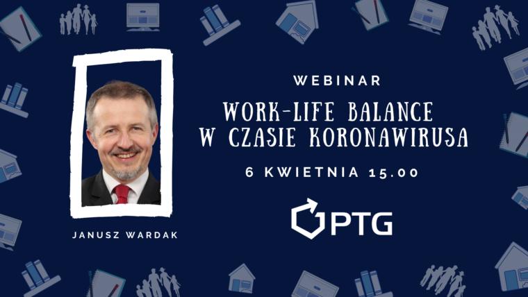 Work-life balance a koronawirus – webinar PTG