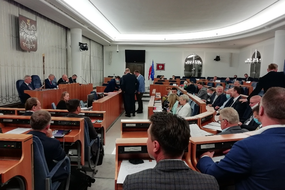 Ekspert PTG w obronie polskich prywatnych przedsiębiorców na Komisji Ustawodawczej Senatu RP